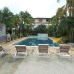 Área de la piscina