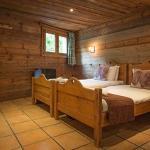 A comfortable en-suite bedroom