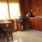 cabin kitchen/dining
