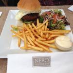 A Nero's burger