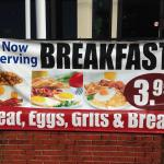Now Serve $3.99 Breakfast