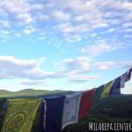 Prayer Flags at the Stupa