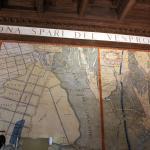 una pared en la Sala de las Mapas