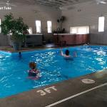 Indoor Pool with Hot Tubs