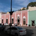 Restaurant fasade towards the main square