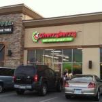 Located next to Starbucks and Subway