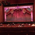 View of Stage for The Nutcracker from Row V