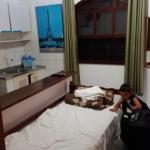camas niños con cocina y heladera