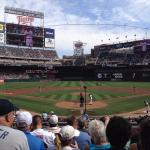 Target Field on a sunny afternoon.