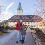 Unser wunderbare Hochzeitsreise im Schloss