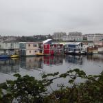 Floating homes on fishermans's wharf