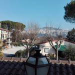 Vista di Assisi dalla camera