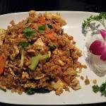 Basil Fried Rice with Chicken