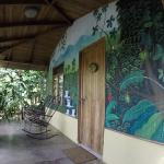 Our casita. Lovely murals!