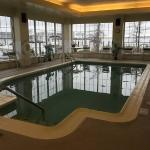 Lovely indoor pool with nice views