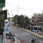 View from dorm room over Truong Cong Dinh street