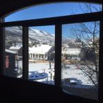 view from family room overlooking Town Lift