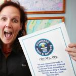 Guinness World Record Holders (3 times!) for most Cappuccinos in an hour