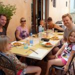 Lunch buffet at La Gramola