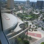Room View South to Toyota Center