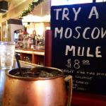 Moscow Mules made with Titos Handmade Vodka
