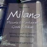 Milano Pizzeria & Restaurant, SE Main St, Simpsonville, SC, Dec 2015