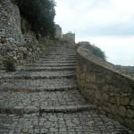 Sentiero d'accesso al colle