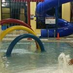 Kid Water Playground and Slide