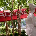 Rouge Awning And Venus Statue