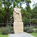 Monumento homenaje a San Martin y O'Higgins