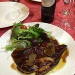 Duck Foie gras salad