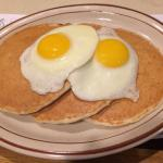 eggs & pancakes - happy together!