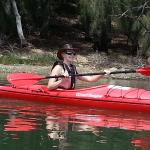 Peaceful paddle on Lake Durras