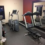 Fitness center items
