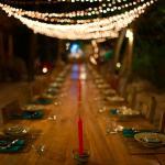 Communal Dinner set up