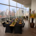 Heaven Over Hell Penthouse Suite- Meeting Room Set