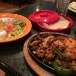 Fajita combo - a lot of food there!