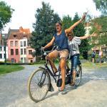 tandem vélo hollandais
