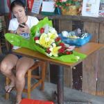 Sirilak with Tai flowers