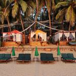 art resort beach front ( Honeymoon cottage ) have all the facilities like ac,fridge , hot shower