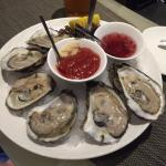 Raw Blue Point Oysters