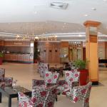 Very spacious lobby.