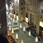 View at night, after everyone left Rock Center
