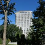 Hilton from park