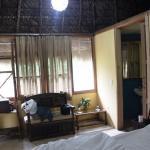 EL espacio dentro de la habitacion