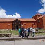 Con la Familia Albujar en el Tour Chucuito-Aramumuru-Juli y Tiahuanaco- La paz