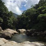 Natural pools on nearby hikes