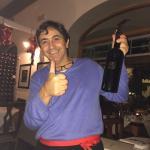 Barba Salvatore is the soul of Il Ritrovo