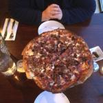 Al Capone Pizza with Four Meats