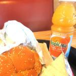 Arby's Roast Beef nd Orange Juice, Sunnyvale, Ca